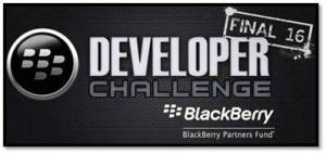 ProOnGo is in the BlackBerry Developer Challenge